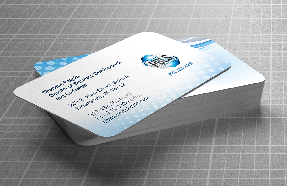 Automotive Freight Pbls Branding Business Cards Burkhart Marketing
