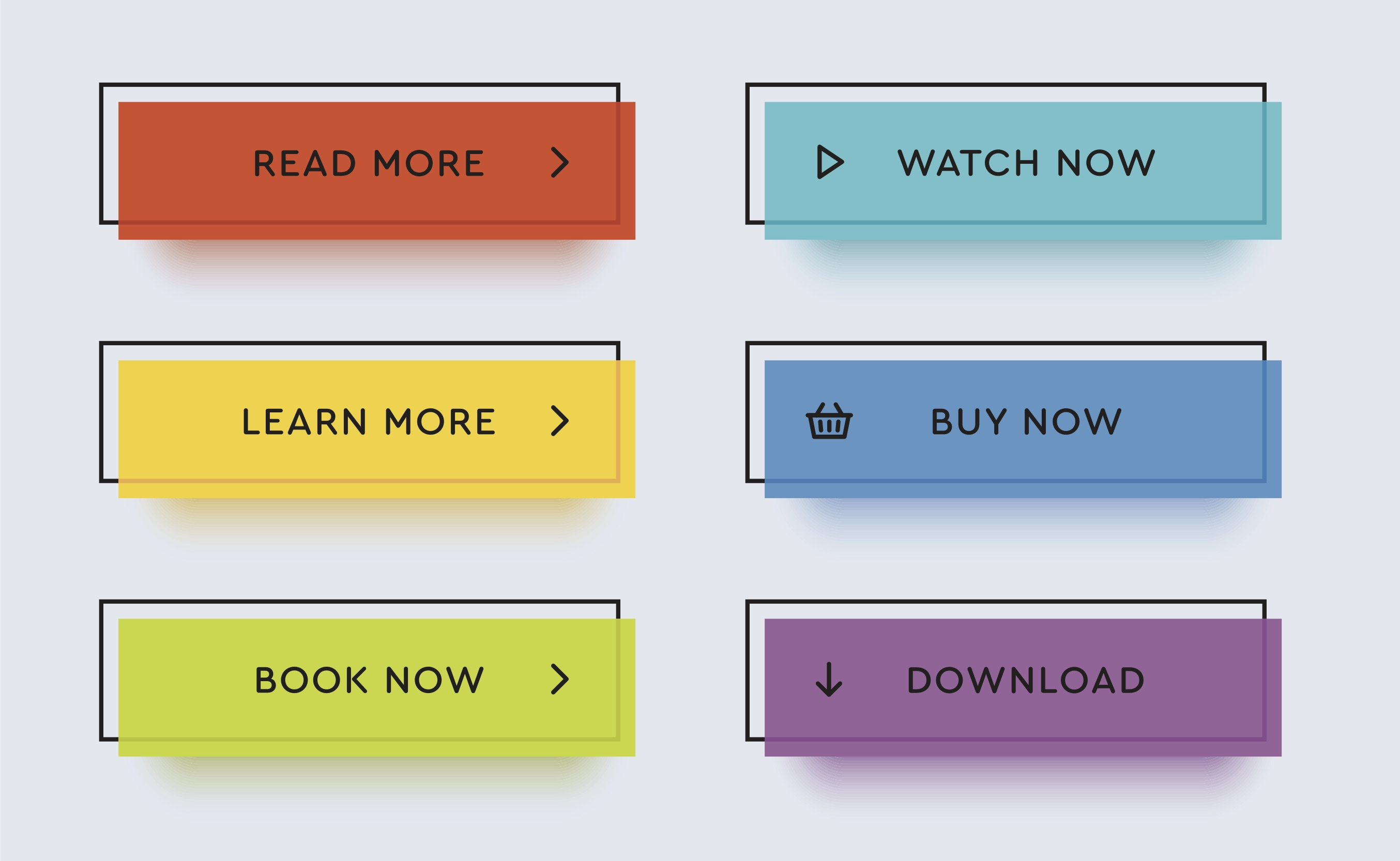 clear call to action buttons